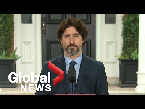 Coronavirus outbreak: Trudeau says Feds will add COVID-19 supply stores to meet future demand   FULL