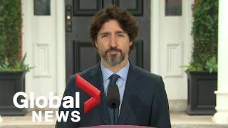 Coronavirus outbreak: Prime Minister Trudeau addresses Canadians on COVID-19 pandemic | LIVE