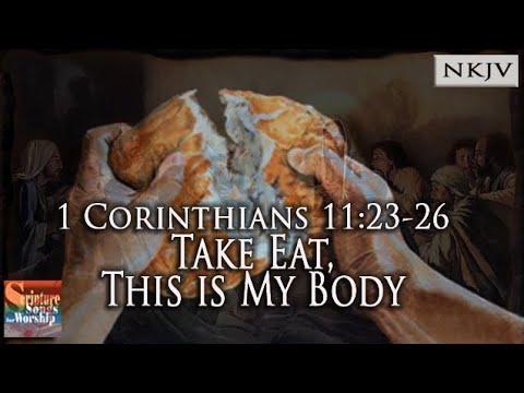 1 Corinthians 11:23-26 Song