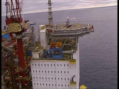 Gullfaks C oilplatform in the North Sea