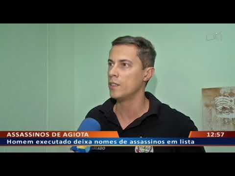DFA - Homem executado deixa nomes de assassinos em lista