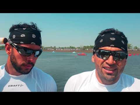Serguey TORRES & Fernando DAYAN JORGE Cuba / C2 1000m Gold - 2021 ICF Canoe Sprint World Cup 2