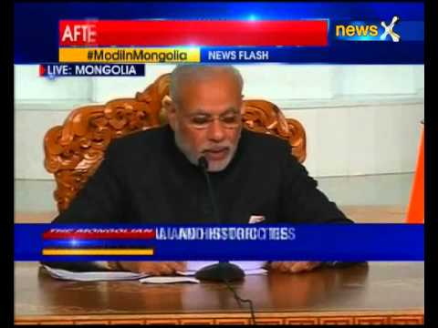 'India to provide $1 bn credit support to Mongolia,: PM Narendra Modi