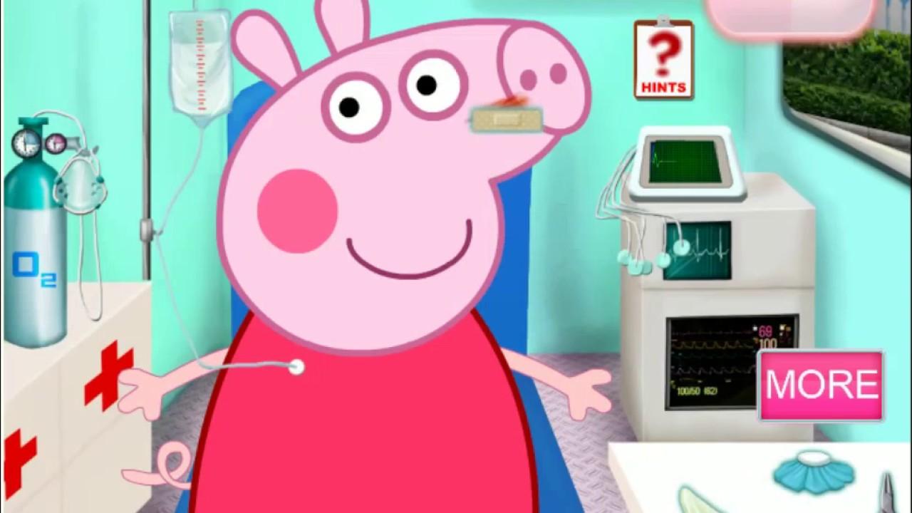 Лечим свинку пеппу игры для детей