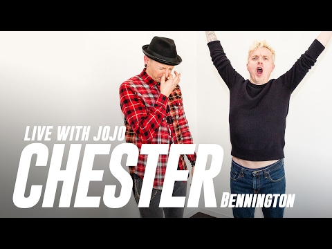 Chester Bennington Live With JoJo
