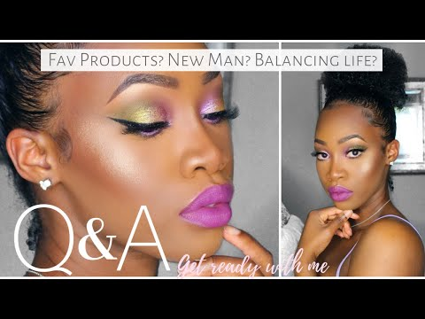 GRWM Q&A: Full Face of My FAVORITE Products, Balancing Influencer Life, Dating Tips | Maya Galore from YouTube · Duration:  35 minutes 27 seconds