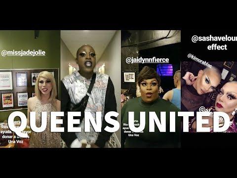 United Queens for Puerto Rico   Rupaul Drag Race