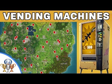 Fortnite Vending Machines - New Battle Royale Content And Vending Machine Locations
