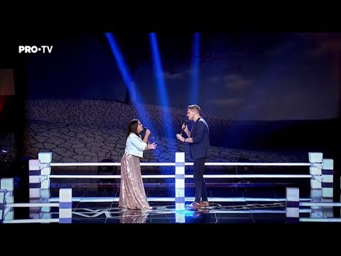 Anne Marie Ionescu Vs. Paul Batinas - Mercy   Battle   Vocea Romaniei 2017