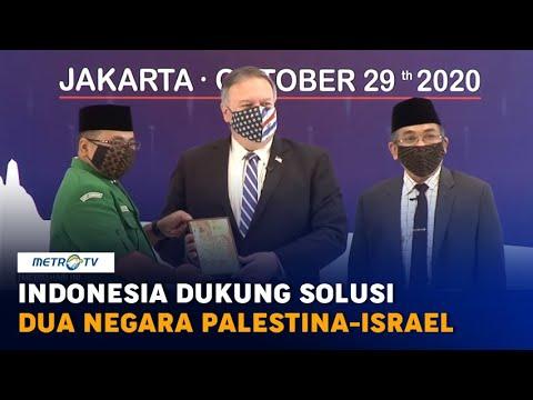 Indonesia Dukung Solusi Dua Negara Palestina-Israel