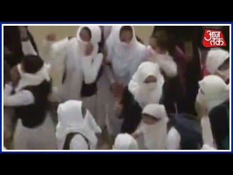 Students Protest Again In Srinagar, Raise 'Azadi' Slogans