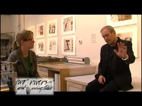 Sherri Hancock Tomek talks with Harry Bernard