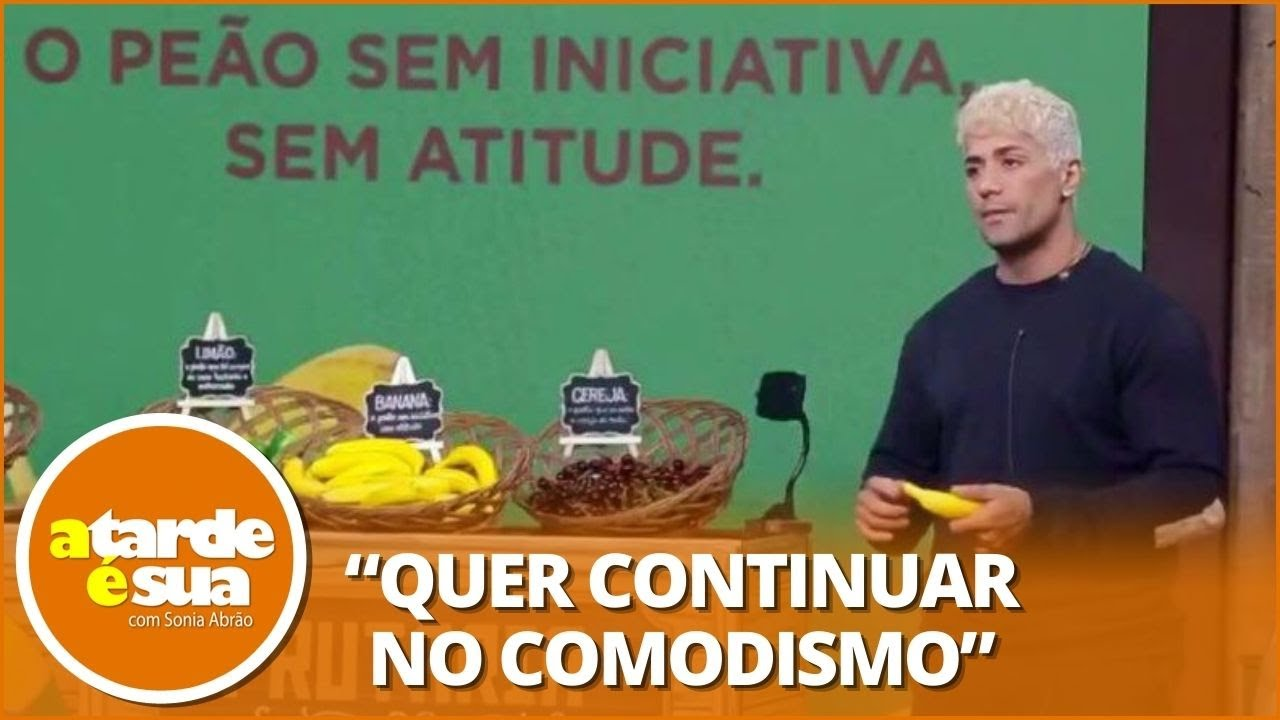 Planta ou estrategista? Sonia Abrão opina sobre Tiago Piquilo em 'A Fazenda'