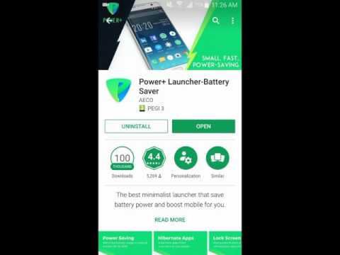 Power + Launcher - Battery Saver for Android - A Complete Video Review