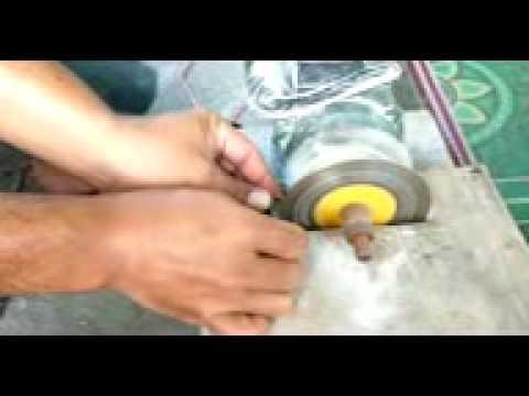 Cara Pembuatan Batu Akik Part 1 - YouTube