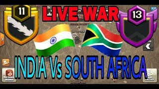 LIVE WAR ATTACKS INDIA VS SOUTH AFRICA (HINDI)