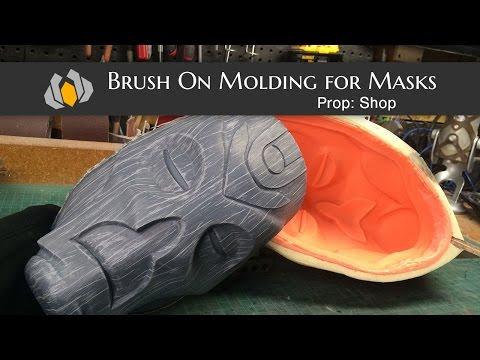 Prop: Shop - Molding & Casting 101: Brush on Molds for Helmets & Masks