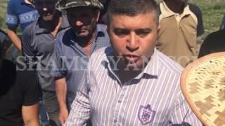 Արմավիրի մարզում բնակիչները, ի նշան բողոքի՝ փակել են ճանապարհը