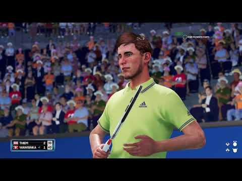AO Tennis 2  Thiem Vs Wawrinka   US Open   Classe Mondiale