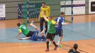 Handball: Horror-Unfall in der zweiten Liga