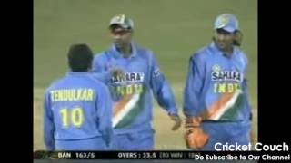 Dhoni 1st Feat ( First Six, First Catch, First Stump, First Run Out, First Century,More)