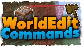Die wichtigsten World Edit Commands (Tutorial) - Einsteigerfreundlich