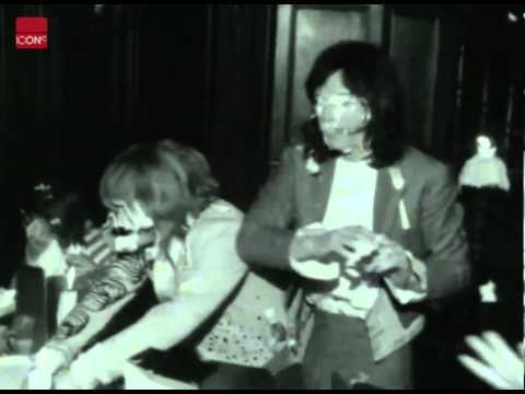 The Rolling Stones throw a party to promote their new album Beggar