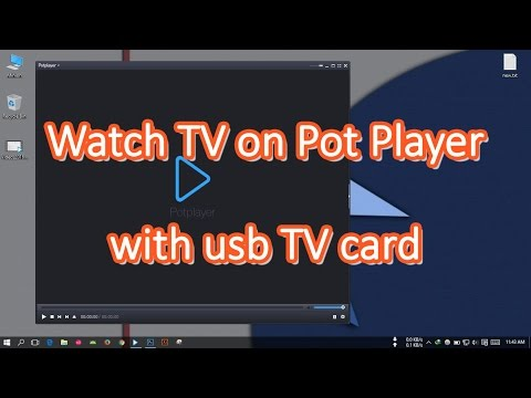 Watch TV On Pot Player With Usb TV Card (TVHome Media Problem Solved)