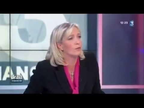 Marine Le Pen, le visage de Babylone la Grande, l'Eglise Catholique