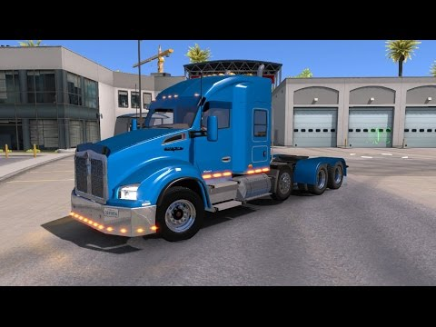 Mod Review: Enhanced Kenworth T680/T880 by Tom Dooley