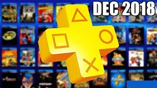 PS PLUS GAMES for Dec 2018 Revealed !! Good Enough??