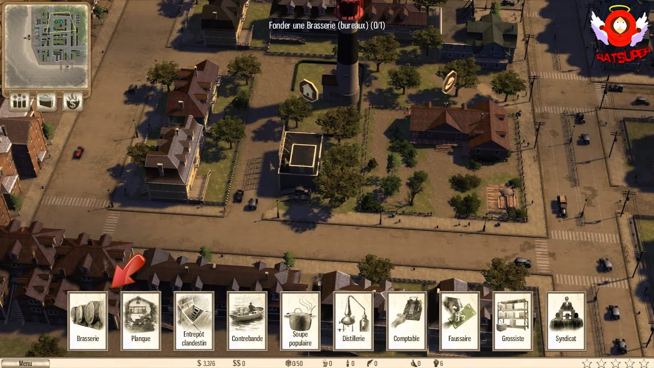 omerta city of gangsters d couverte du jeu pc. Black Bedroom Furniture Sets. Home Design Ideas