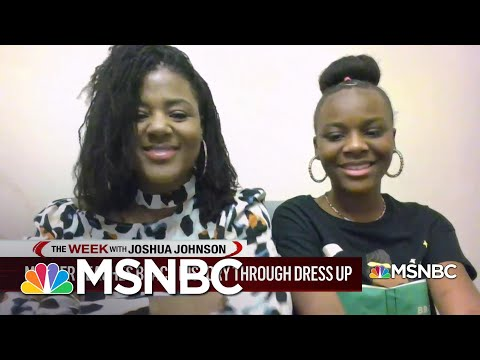 Mother-daughter Duo Celebrate Black History Month With Daily Dress-Up | MSNBC