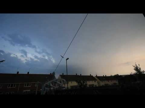 Supercells  Over Stanley Video 1