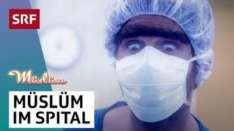 Müslüm viral im Spital | Müslüm Television | SRF Comedy