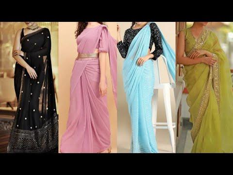 Women/Girls Wear Latest Party Wedding Saree Collection | Latest Beautiful Saree Collection 2021