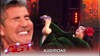 Simon Says NO Too Fast Then Gets Well Deserved PAYBACK! | America's Got Talent 2019