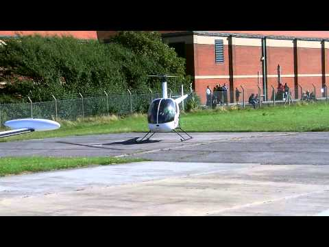 Bird v Helicopter Rotor Blades at 500rpm