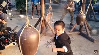 Ryusei lmai - Upcoming KungFu kids movie - Behind the scenes