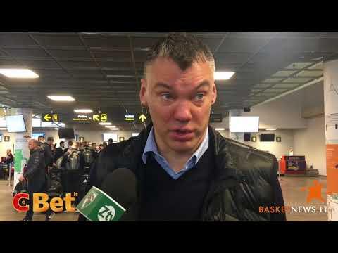 """Jasikevičius: """"Tai nebus graži serija, bet """"Olympiakos"""" kitaip neįveiksi"""""""