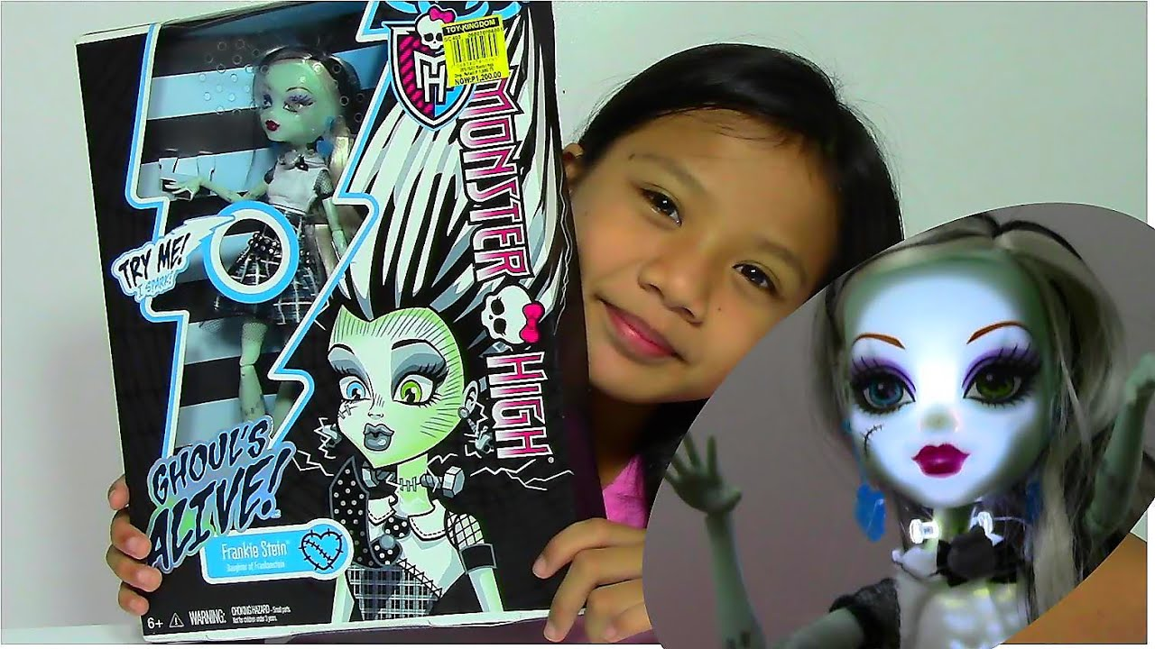 Monster High Ghoul's Alive Frankie Stein - Monster High Doll Collection