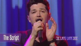 The Script perform Superheroes | The Late Late Show