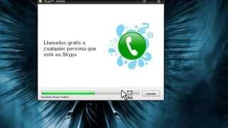 como descargar Skype full español (gratis).mp4