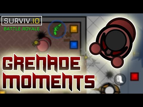 The Grenade Specialist   Grenades Compilation [PART 2]   Surviv.io