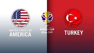 USA v Turkey - Full Highlights | FIBA Basketball World Cup 2019