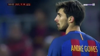 Andre Gomes vs Atletico Madrid (Home) 16-17 HD (7/2/2017)