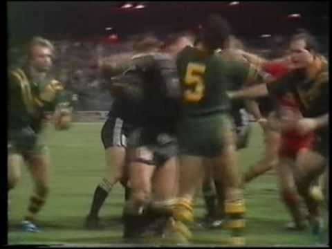 1985 1986 Australia V New Zealand Rugby League Tests