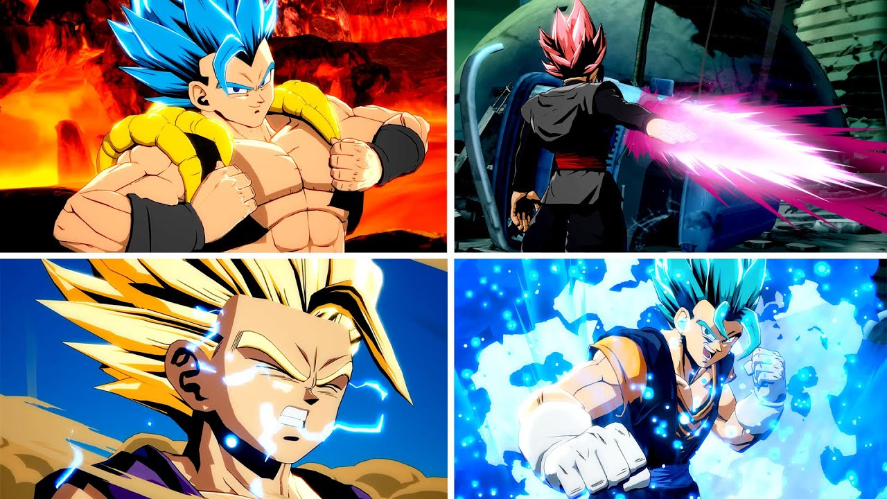 Remember Those Awesome Goku Day Manga Color Options Well Someone Managed To Mod Those Costumes In For Every Character In Dragon Ball Fighterz