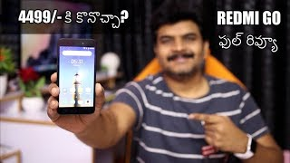 Xiaomi Redmi Go Full Review ll in Telugu ll