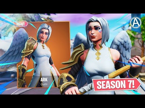 """NEW """"ARK"""" SKIN Gameplay! // Pro Console Player // 1600+ Wins (Fortnite Battle Royale LIVE) thumbnail"""